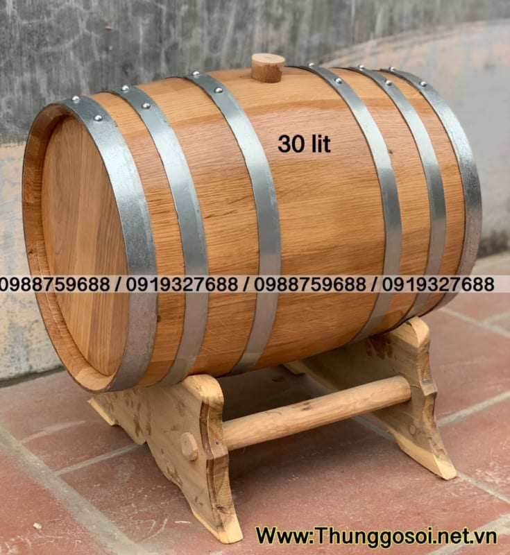 bán bom rượu gỗ sồi
