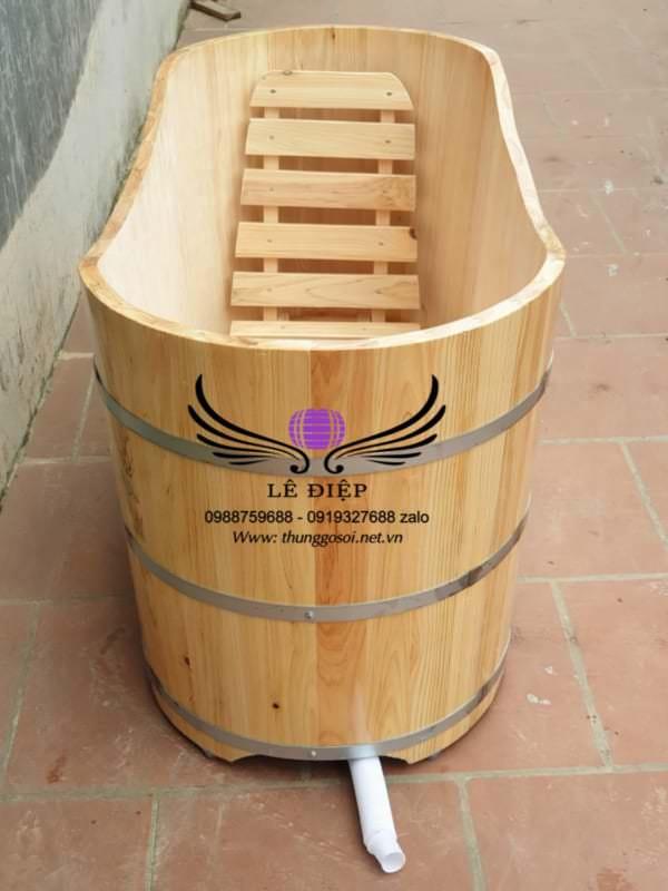 bán bồn tắm gỗ