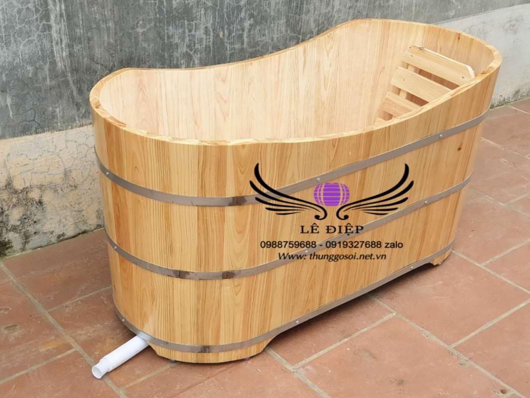 bồn gỗ pơ mu