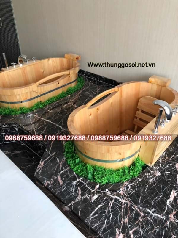 bán bồn tắm gỗ tại tphcm