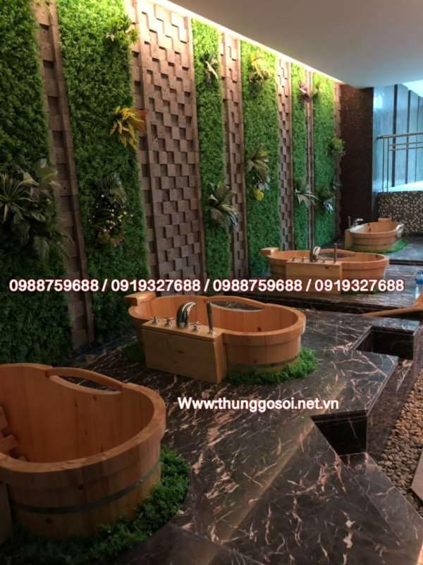 bồn tắm gỗ tại tphcm