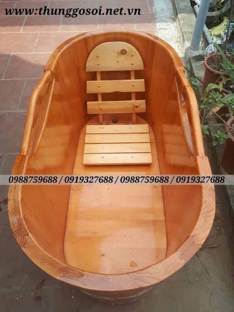 bán bồn tắm gỗ thông, gỗ sồi, gỗ pơ mu nhật cao cấp