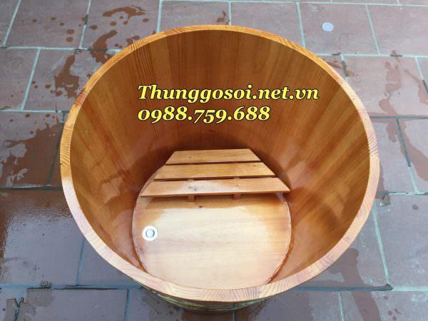 thùng tắm gỗ chất lượng