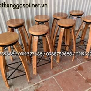 ghế thùng rượu