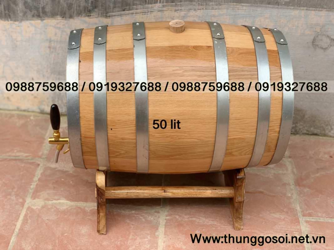 thùng gỗ sôi