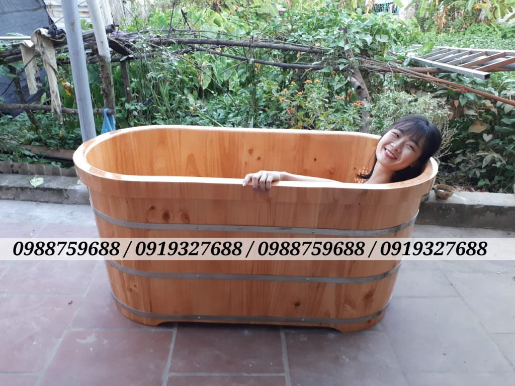 thùng tắm gỗ giá rẻ