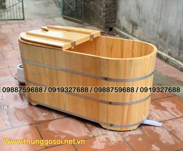 bồn bằng gỗ pơ mu