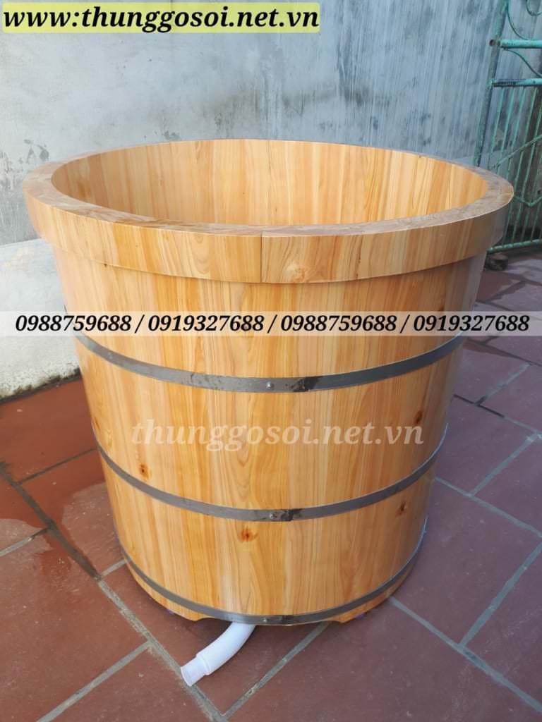 bồn tắm gỗ pơ mu nhật