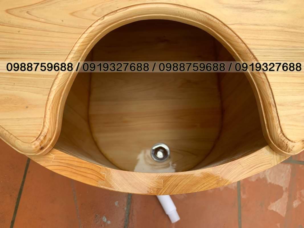 bồn xông hơi gỗ cao cấp