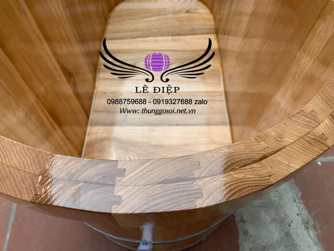 bồn gỗ sồi cao cấp