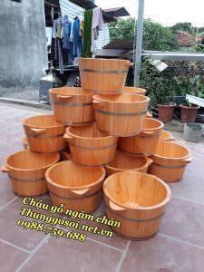 chậu gỗ ngâm chân giá rẻ chất lượng