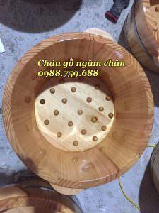 chậu ngâm chân gỗ giá rẻ