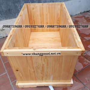 bồn tắm bằng gỗ pơ mu