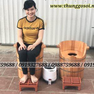 bồn gỗ xông phụ khoa