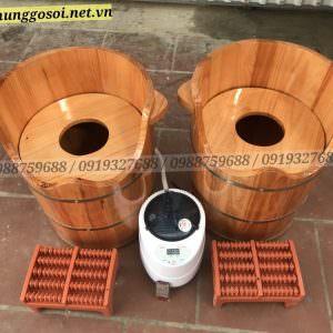 thùng gỗ xông âm đạo hơi