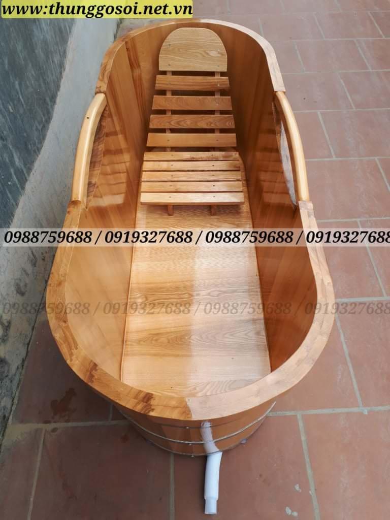 thùng tắm gỗ sồi tại hà nội