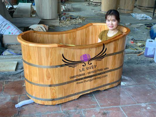 bồn tắm gỗ giá rẻ tại đà lạt