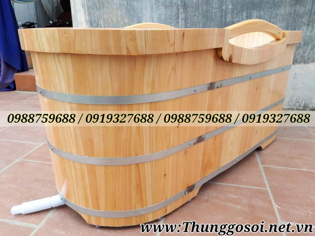 bồn gỗ pơ mu cao cấp