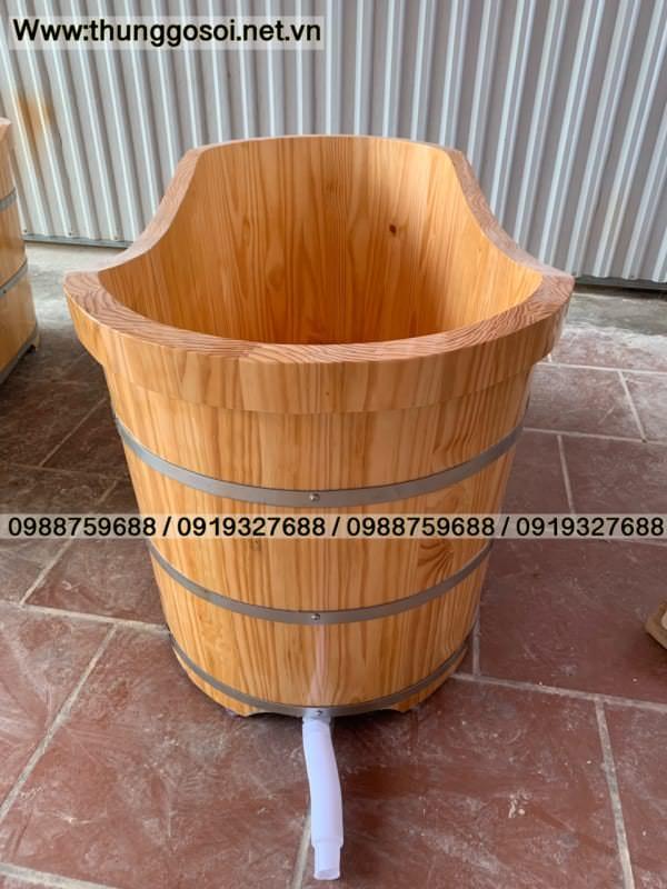 bồn gỗ thông