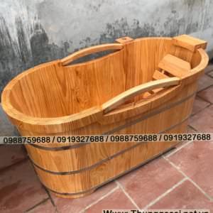 bồn tắm bằng gỗ cao cấp
