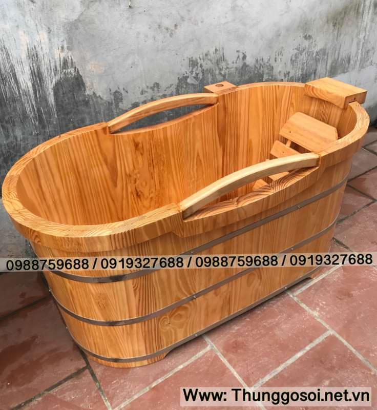 bồn tắm gỗ kiểu dáng nhật