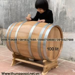 bom rượu gỗ sồi