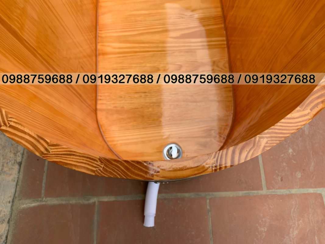 bồn tắm gỗ hà nội