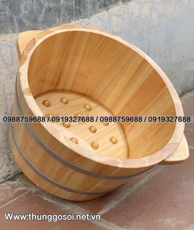 chậu gỗ po mu nhật cao cấp
