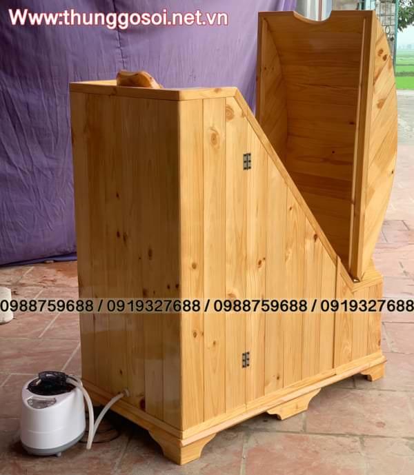 phòng xông hơi gỗ