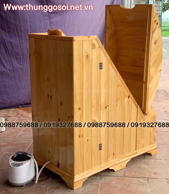 cabin xông hơi gỗ