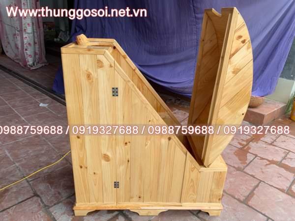 tủ gỗ xông hơi