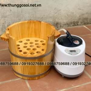 thùng gỗ xông đầu