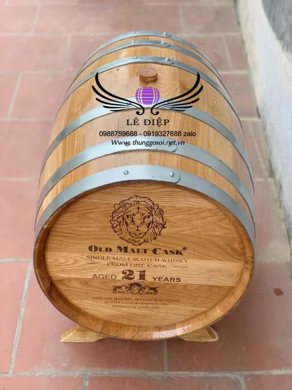 bán bom rượu gỗ sồi mỹ trên toàn quốc