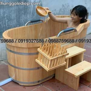 wooden bathtub hinoki