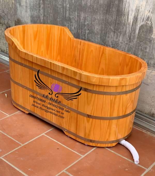 bán chậu tắm gỗ tại hà nội
