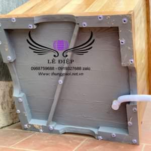 thùng tắm gỗ mini tại cơ sở sx Lê Điệp