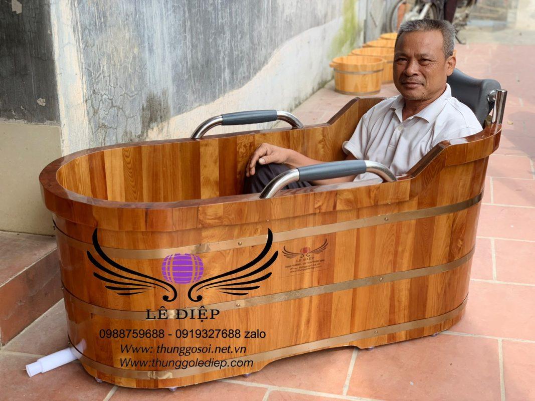 bồn tắm gỗ cao cấp ở Hà Nội